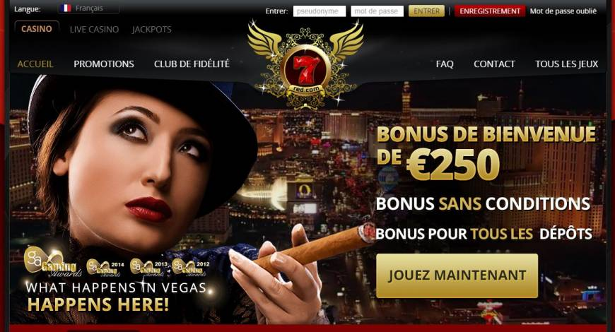 Casino 7red vip, un casino virtuel de classe