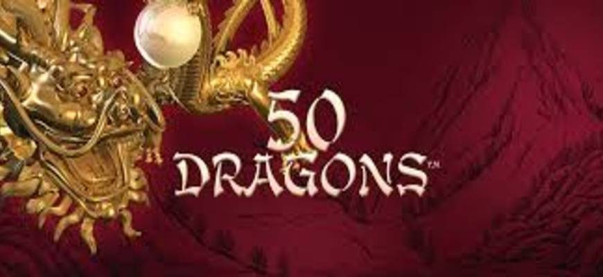 Zoom sur la machine à sous gratuite 50 dragons